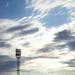 Felhők a pálya felett