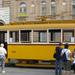 Régi villamos a Baross utcában