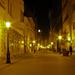 Budapest Váci utca este