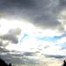 Szélűzött felhők a Széchenyi tér felett