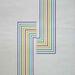 004 - Albert Zsuzsa - Variációk öt színre, 1977. 70x50cm - Karto