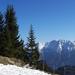 tél vége az Alpokban