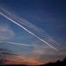 égi fények, repülők úton